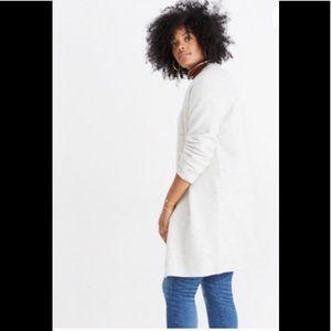 NEW Madewell Lombard sweater coat xs
